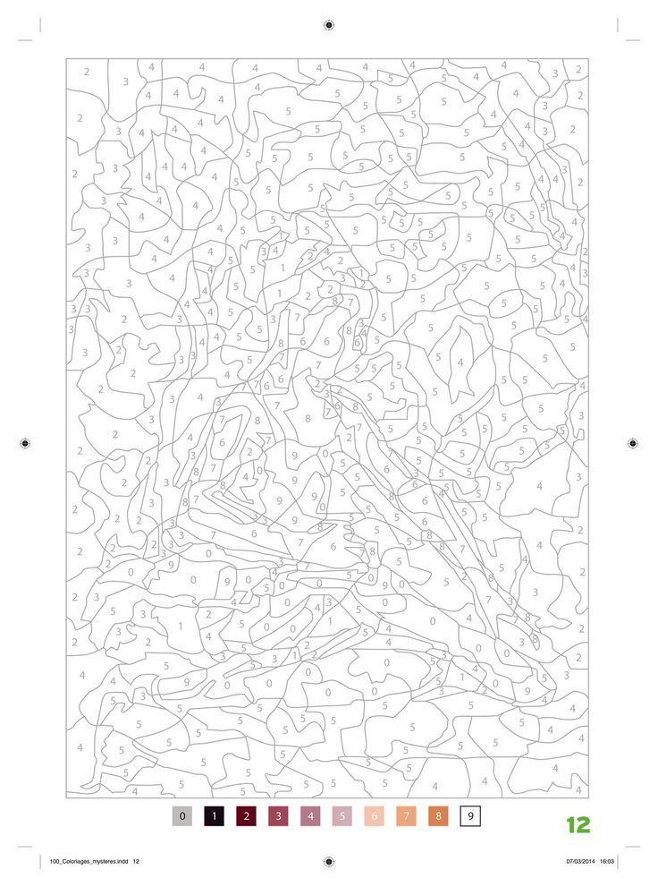 Pin de Anja Burg en Coloring by number | Pinterest | Números ...