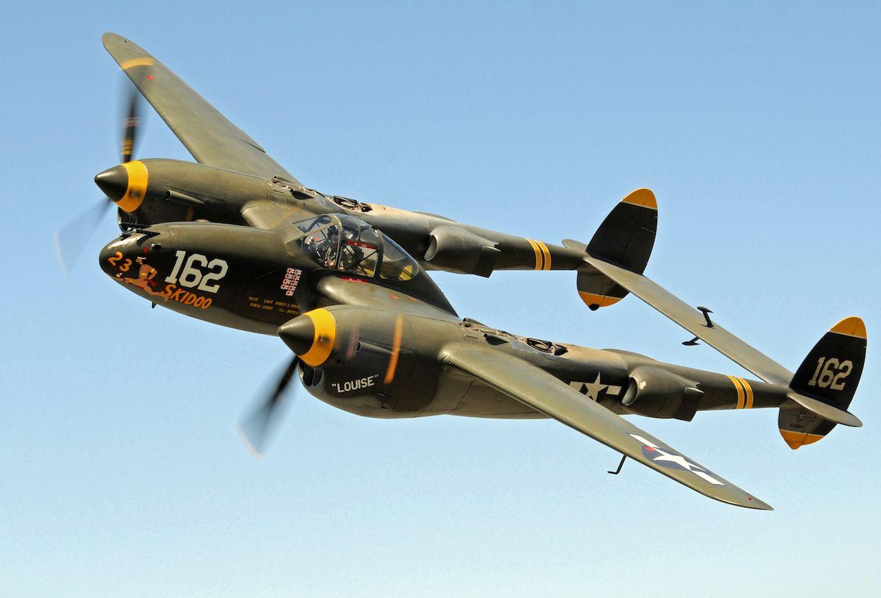 P 38 Plane