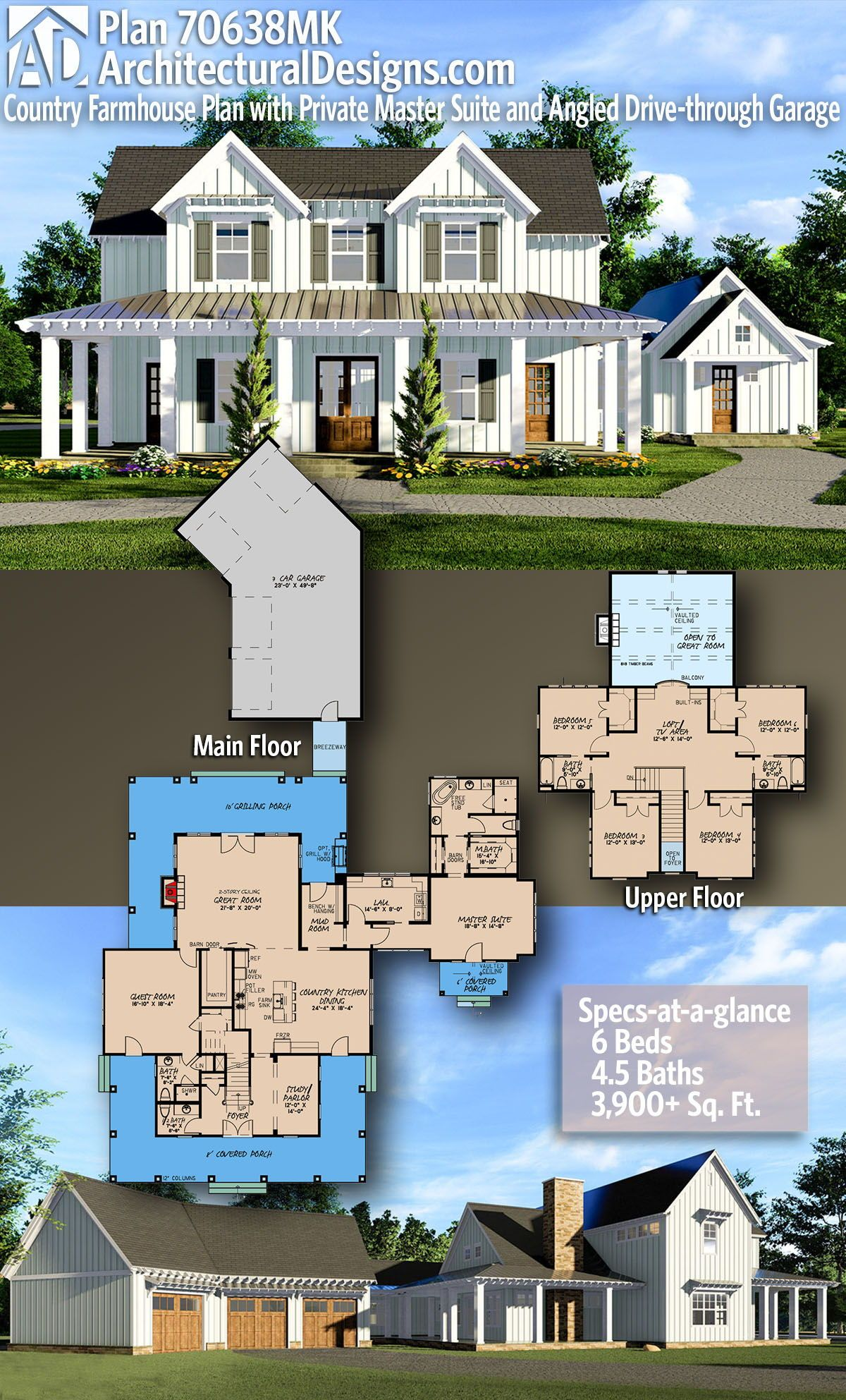 Architectural Designs - Selling quality house plan