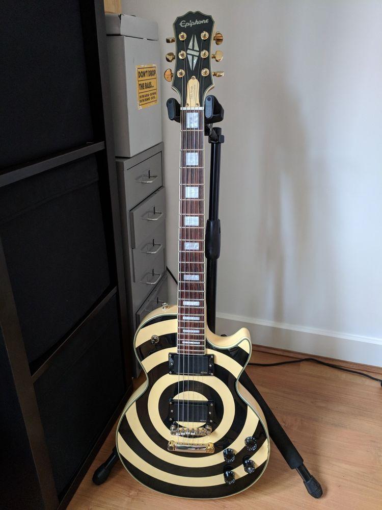 Epiphone Zakk Wylde Les Paul Custom Bullseye Epiphone Zakk Wylde Guitar
