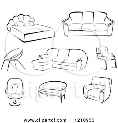 Modern Furniture Sketches modern sofa sketches - google search | material library design