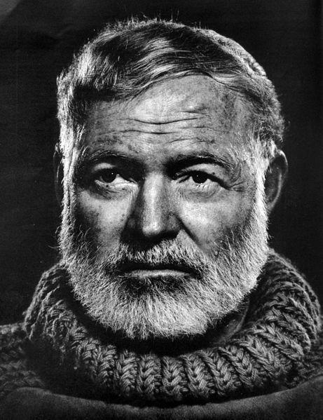 yousuf karsh Hemingway_portrait