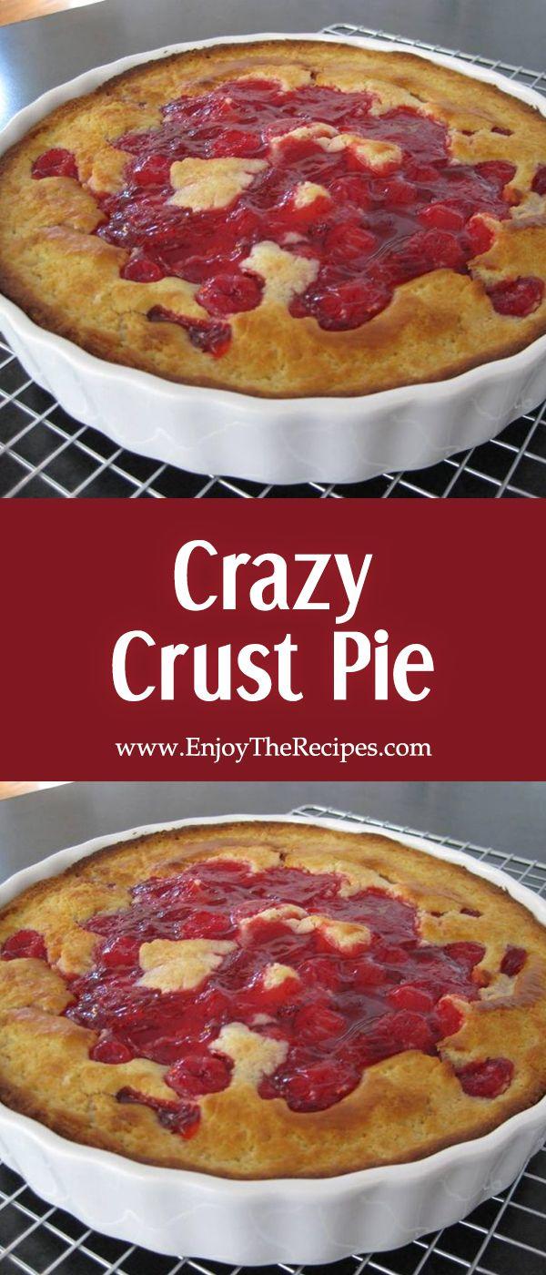 Crazy Crust Pie – Enjoy The Recipes #enjoytherecipes #recipes #desserts #pie