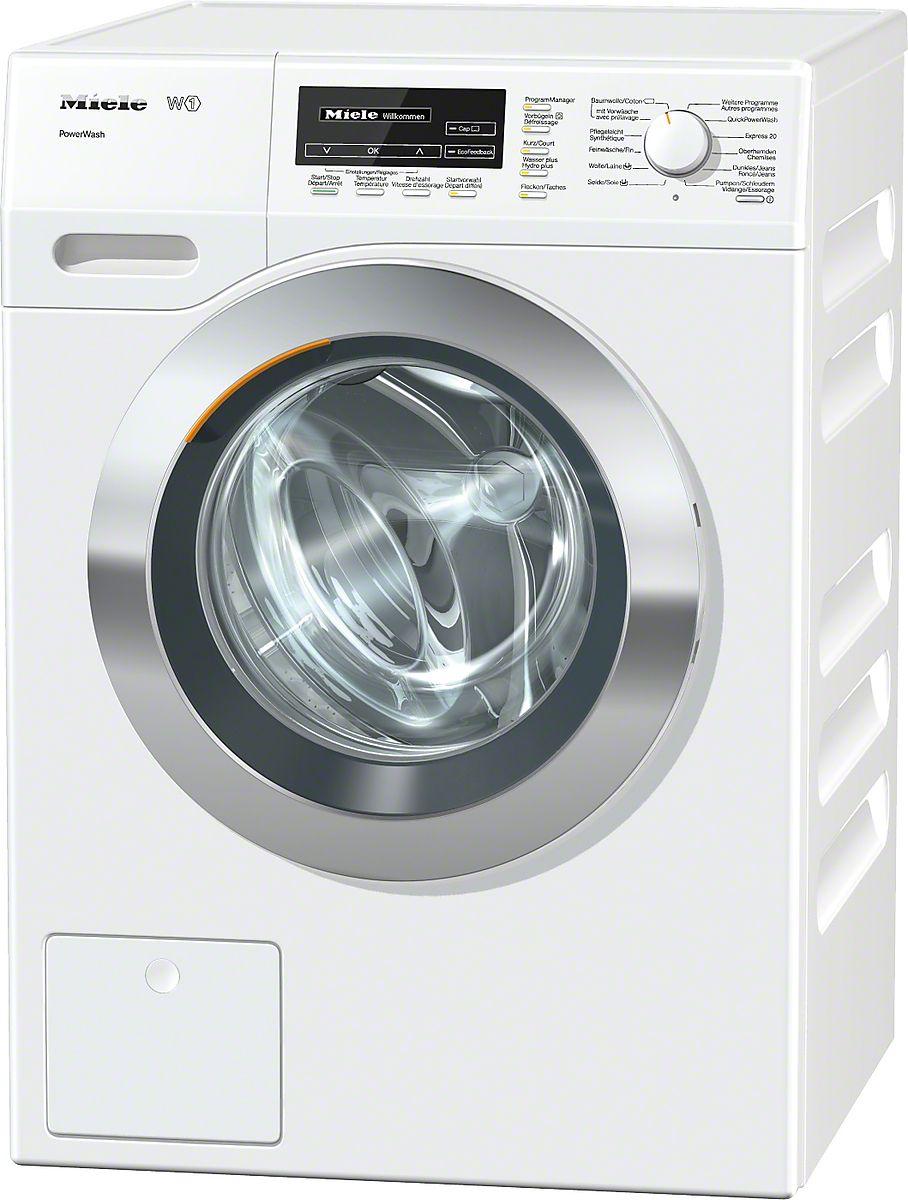 Wkf 100 30 Ch Lave Linge W1 à Chargement Frontal Blanc Lotus Lave Linge Waschmaschine Waschmaschine Miele Wäsche