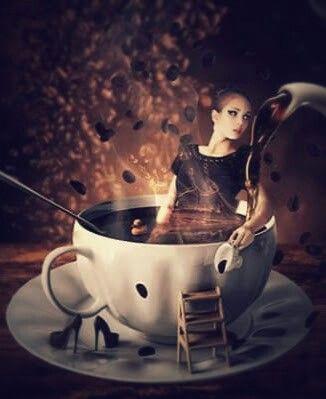 Coffee. ..