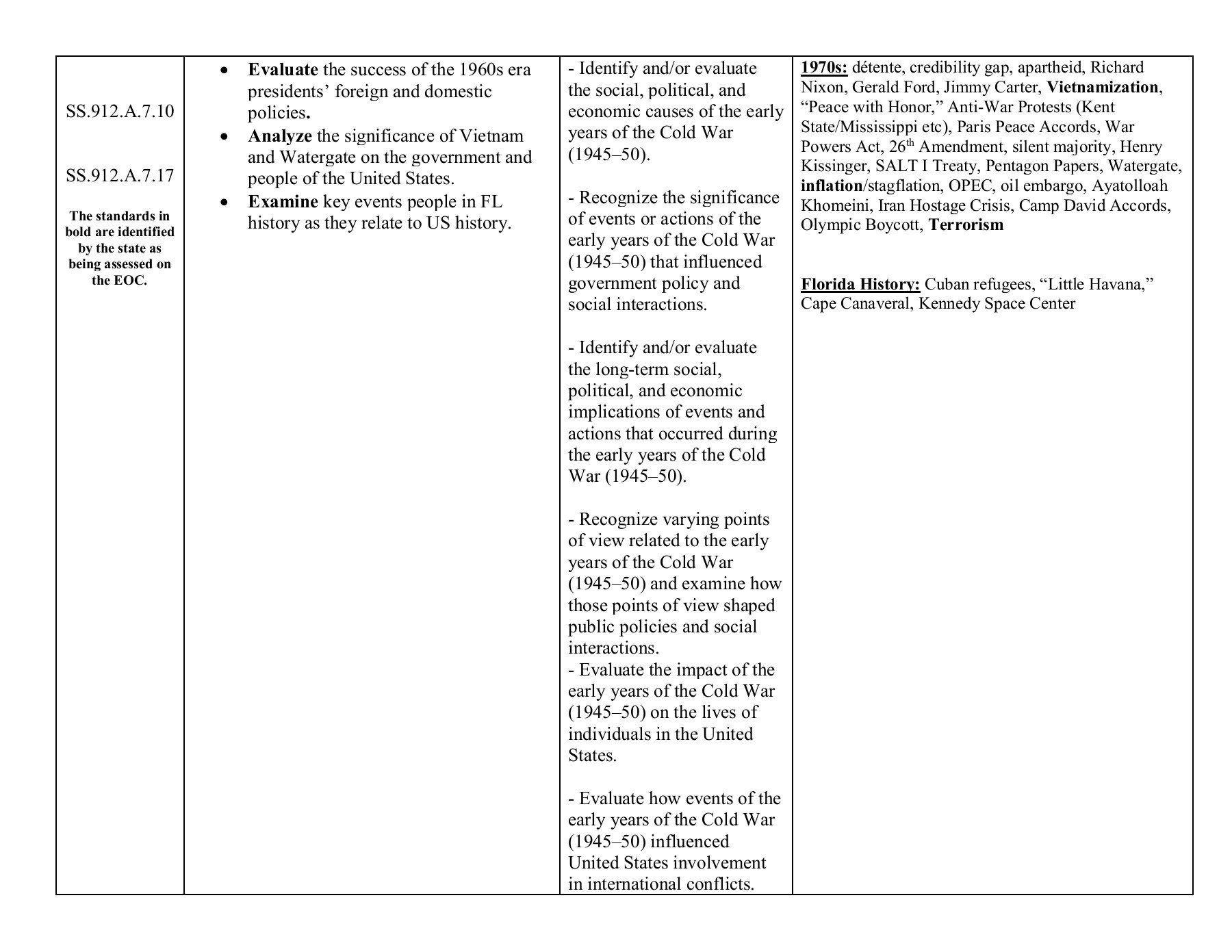 Watergate Primary Source Worksheet