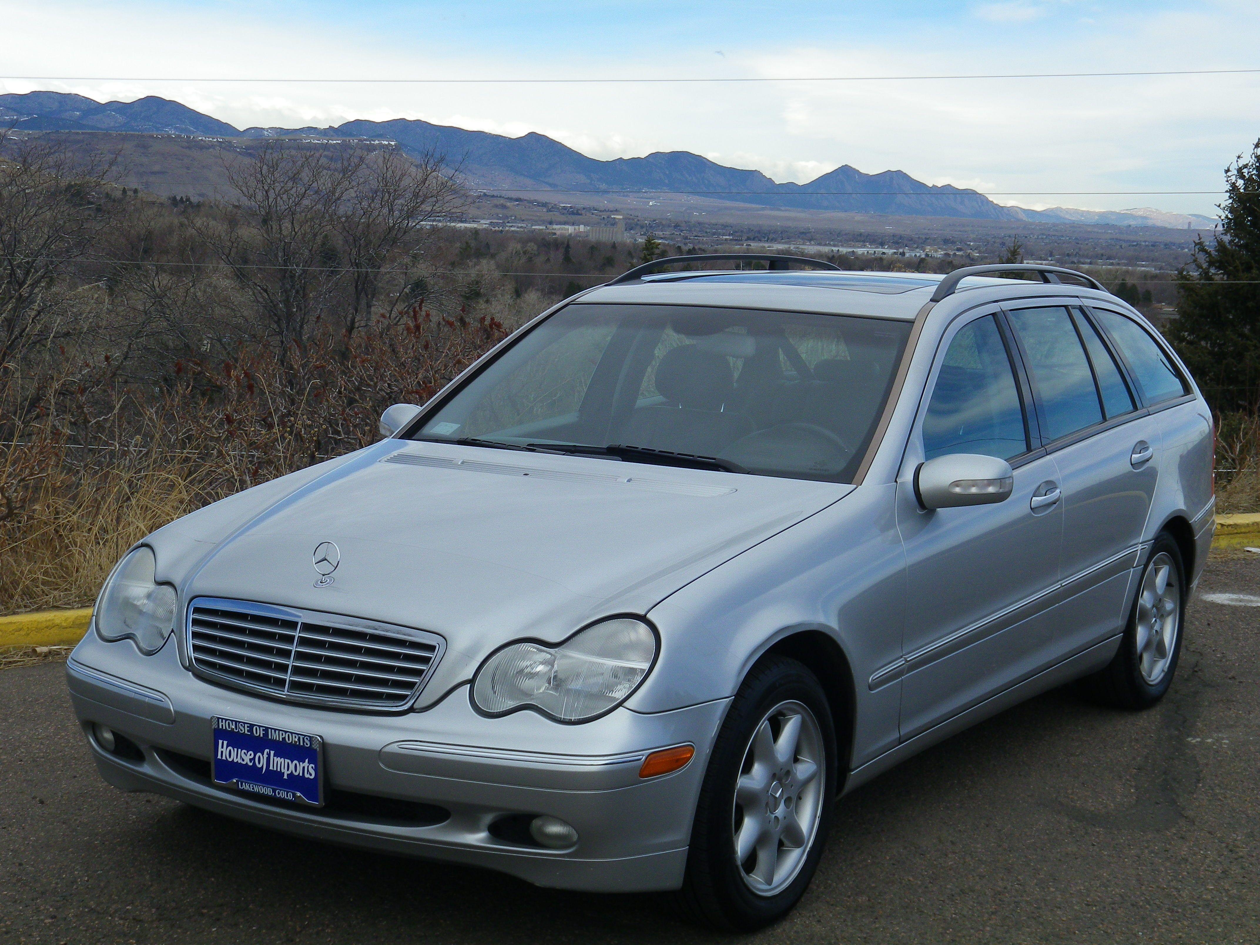 2004 Mercedes Benz C240 4 Matic Wagon Odometer 117 419 V I N