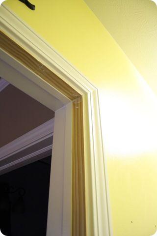 How To Cover Up Door Hinges Holes On Door Frames When You Remove Doors    Great