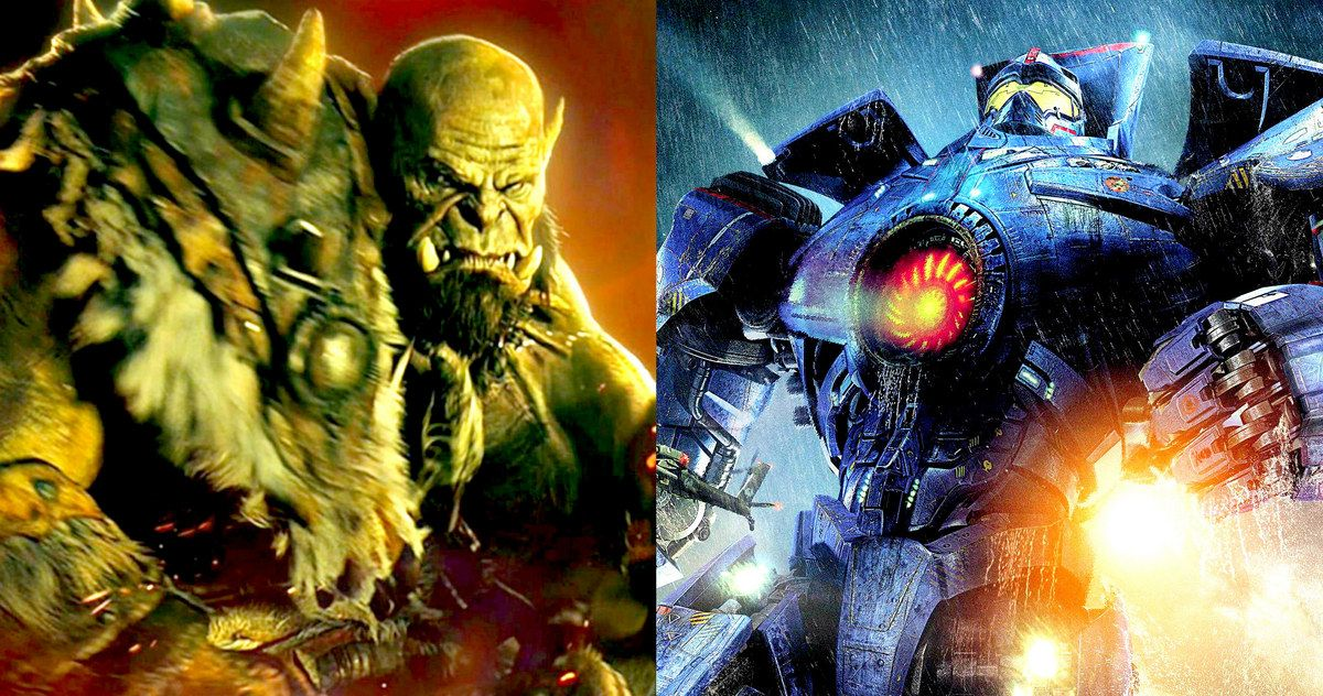 Warcraft Pacific Rim 2 Get New Summer Release Dates With
