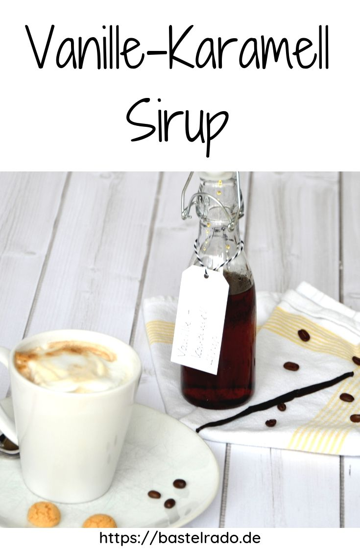 Rezept Vanille-Karamell Sirup #lattemacchiato