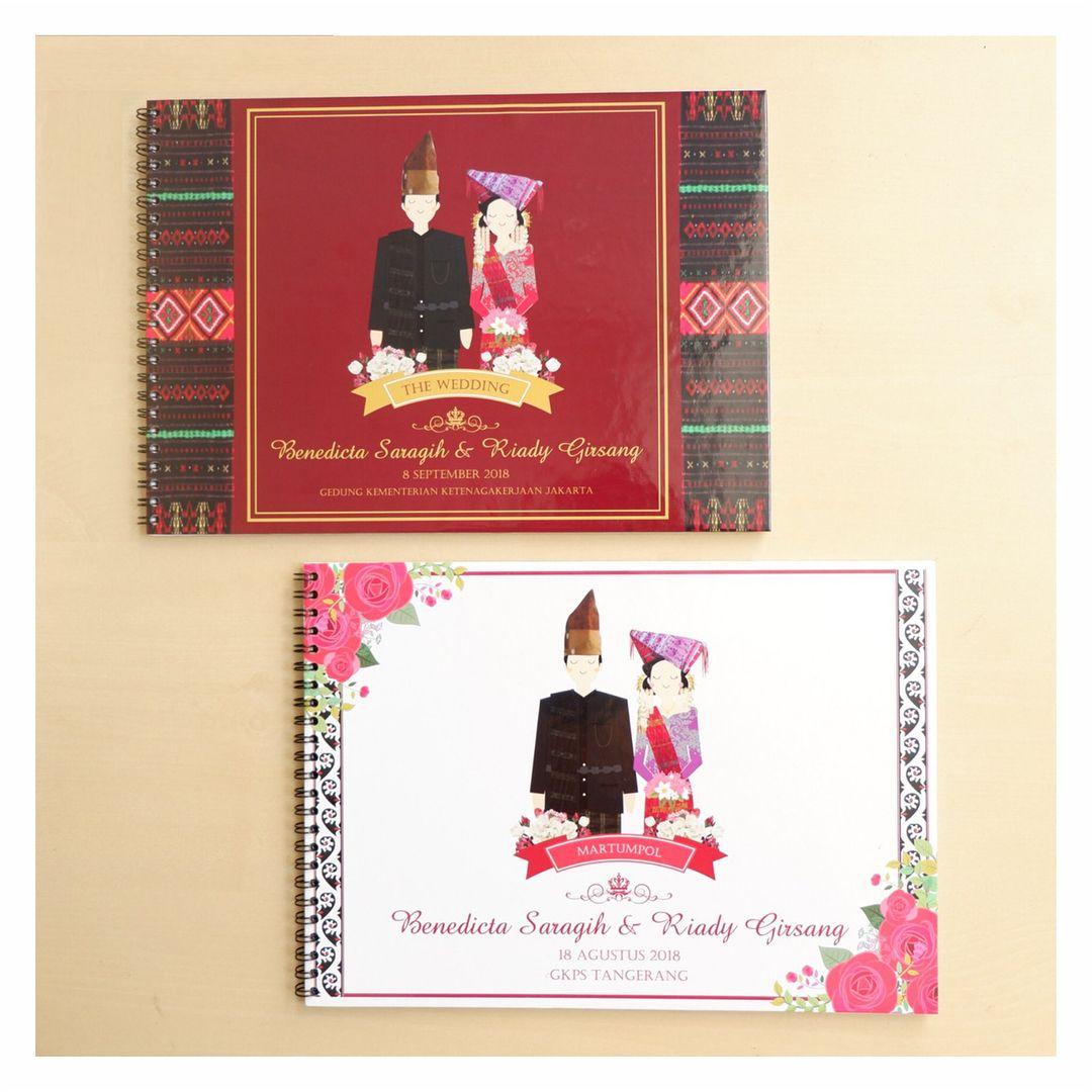 WEDDING 2D GUEST BOOK (ADAT BATAK) : benedicta & riady . . . for ...