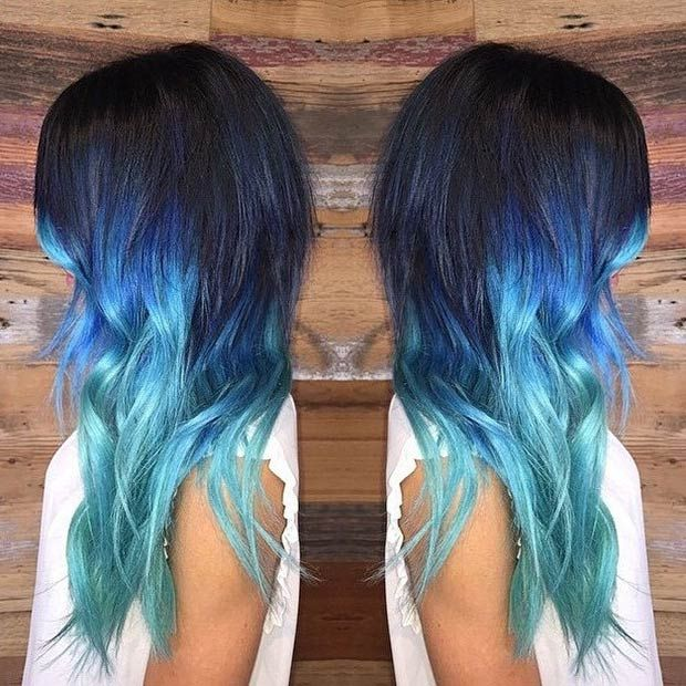 29 Blue Hair Color Ideas For Daring Women With Images Hair