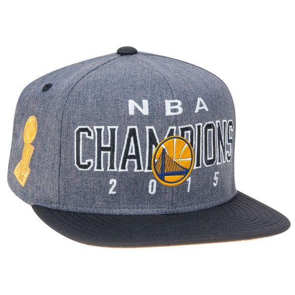 48237ae140 Men s Golden State Warriors adidas Gray Black 2015 NBA Finals ...