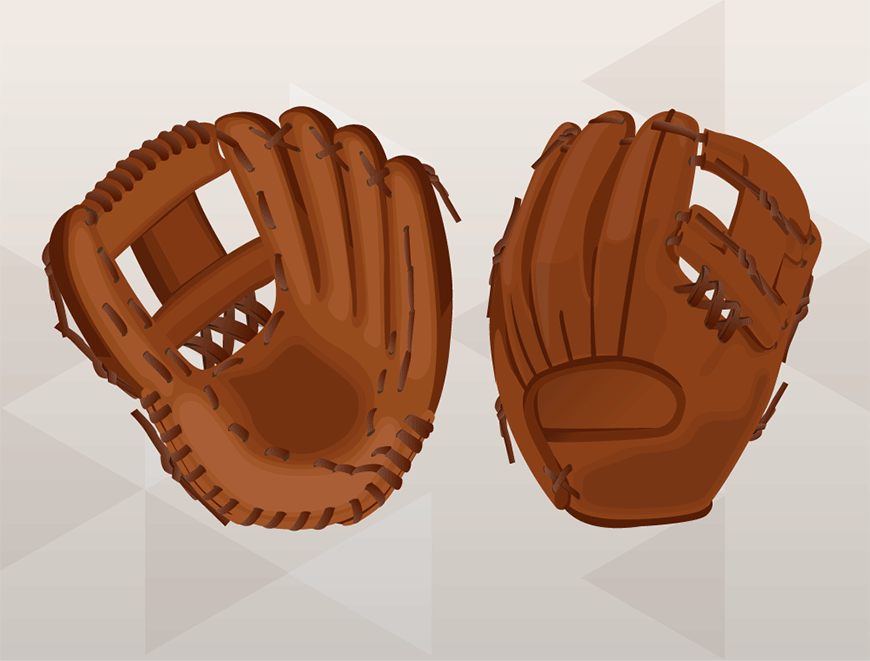 How To Replace Baseball Glove Web Finished Baseball Glove Softball Gloves Baseball