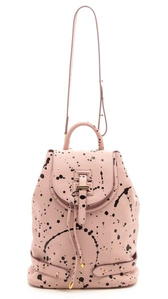 meli melo Paint Splatter Thela Backpack