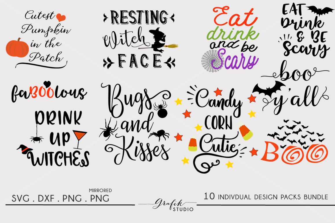 Halloween SVG Cut File Bundle Svg cuts