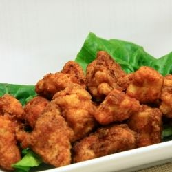 Hot and Spicy Popcorn Chicken by mytrialsinthekitchen