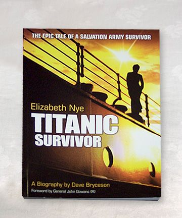 Titanic Survivor Book By Elizabeth Nye - Titanic Museum Attraction in Branson, Missouri and Pigeon Forge, Tennessee