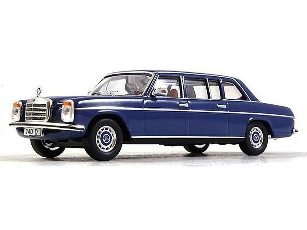 Atlas 1:43 MB Mercedes Benz 240 D 1973 Long blue