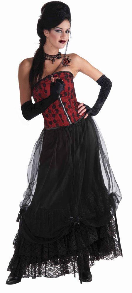 $2999 Saloon girl costume Western theme Pinterest Saloon girl - black skirt halloween costume ideas