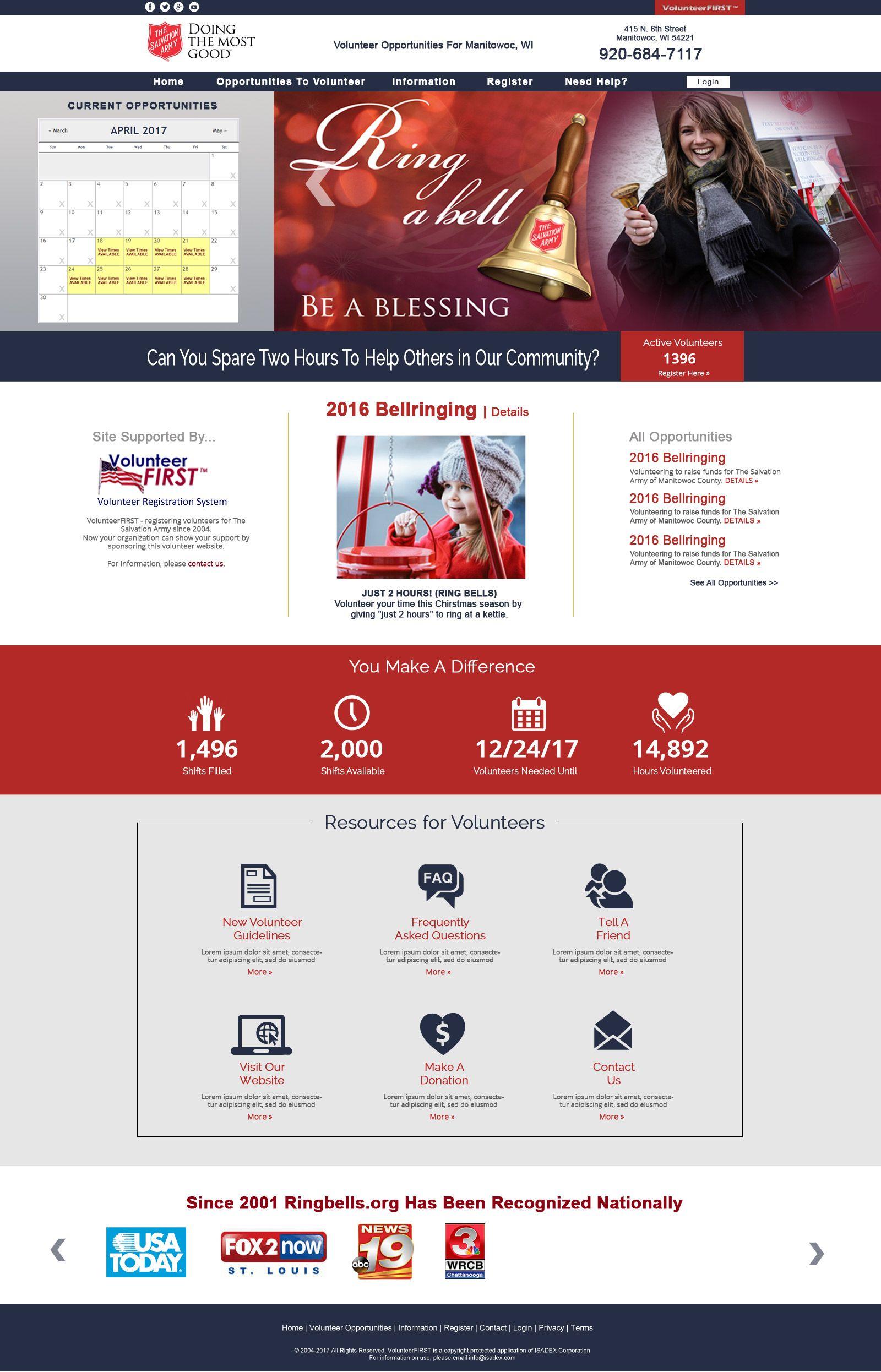 Volunteerfirst Web Design Web Design Agency Website Design