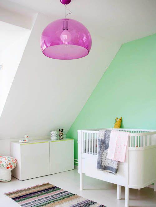 Chambre Fille Vert Pastel
