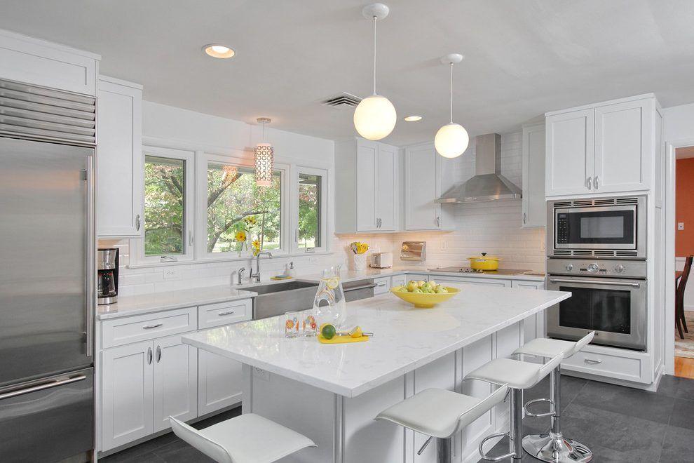 Best Image Result For White Shaker Kitchen Tiles Marble 400 x 300