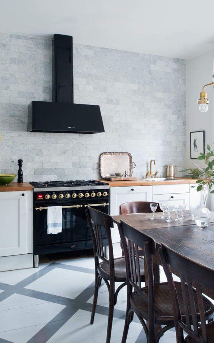 black and white kitchen 1  kitchen renovation kitchen