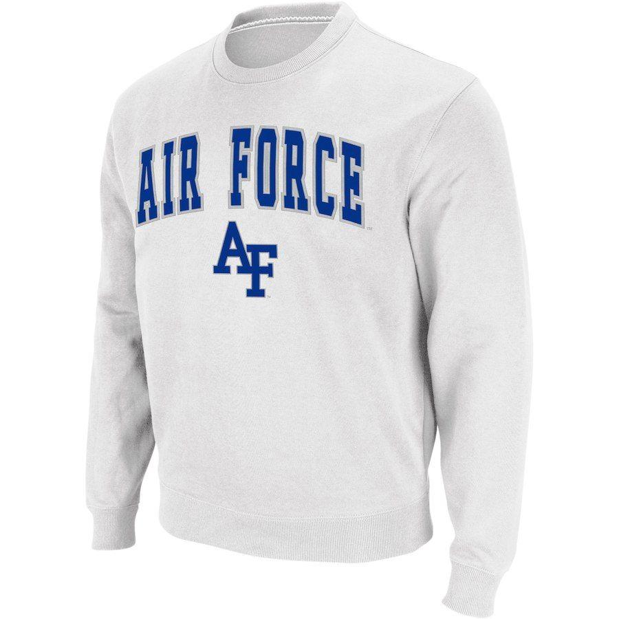 Air Force Falcons Colosseum Arch Logo Crew Neck Sweatshirt White Air Force Sweatshirt Sweatshirts Crew Neck Sweatshirt [ 900 x 900 Pixel ]