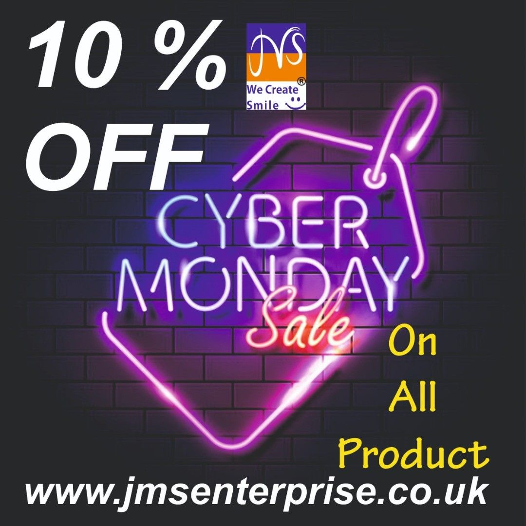 Get Ready Get Set Cyber Monday Arrives Early 10 Off Our Treat To You Www Jmsenterprise Co Uk Cybermonday Blackfriday In 2020 Christmas Sale 10 Things Neon Signs