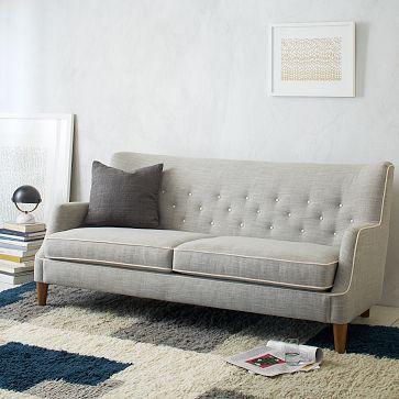 Livingston Sofa #westelm   Furniture   Living room decor, Sofa ...