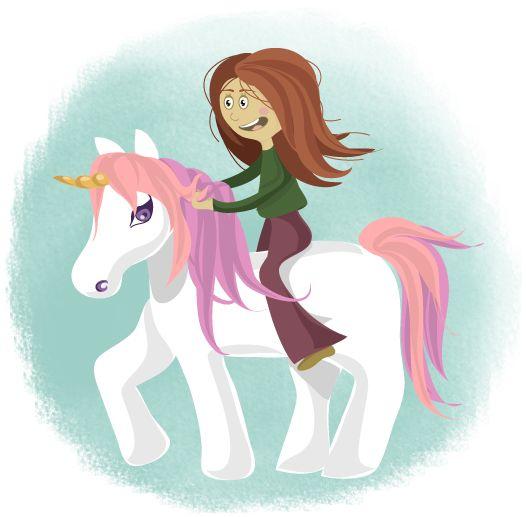 Unicorn riding