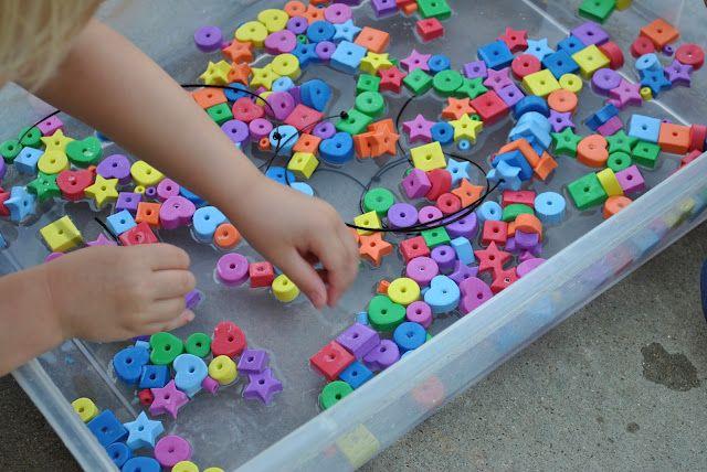 Just Plop It (Child-Led Learning) by Denita Dinger at PreK + K Sharing