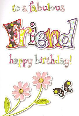 Special Good Friend Birthday Card Cute Traditional Female Choose From 17 Car Birthday Cards For Friends Happy Birthday Special Friend Birthday Special Friend