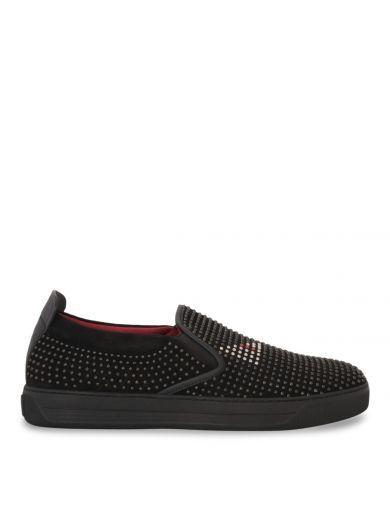 7c95db83 FENDI Fendi Monster Swarovski Slip-on Sneakers. #fendi #shoes #fendi ...