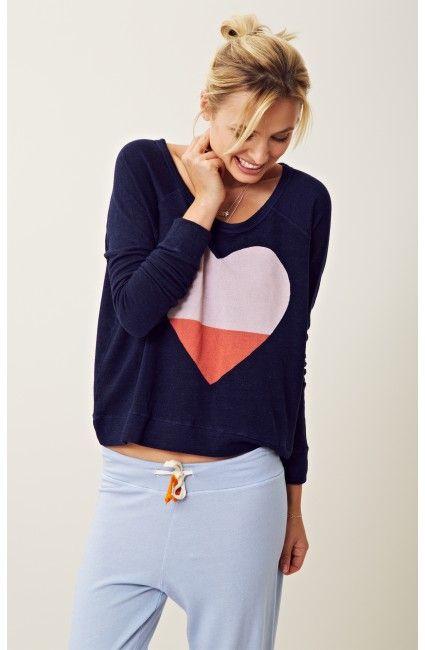 Sundry Heart Pullover  $98