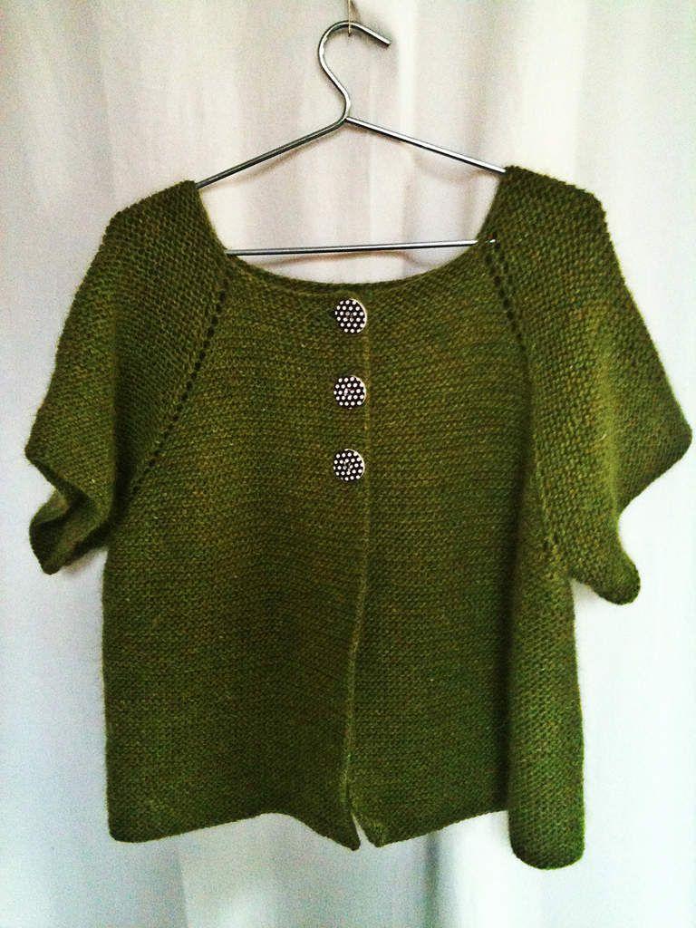 Le tuto du top-down ou comment tricoter sans couture   Tricot ... b1f17a17ac6