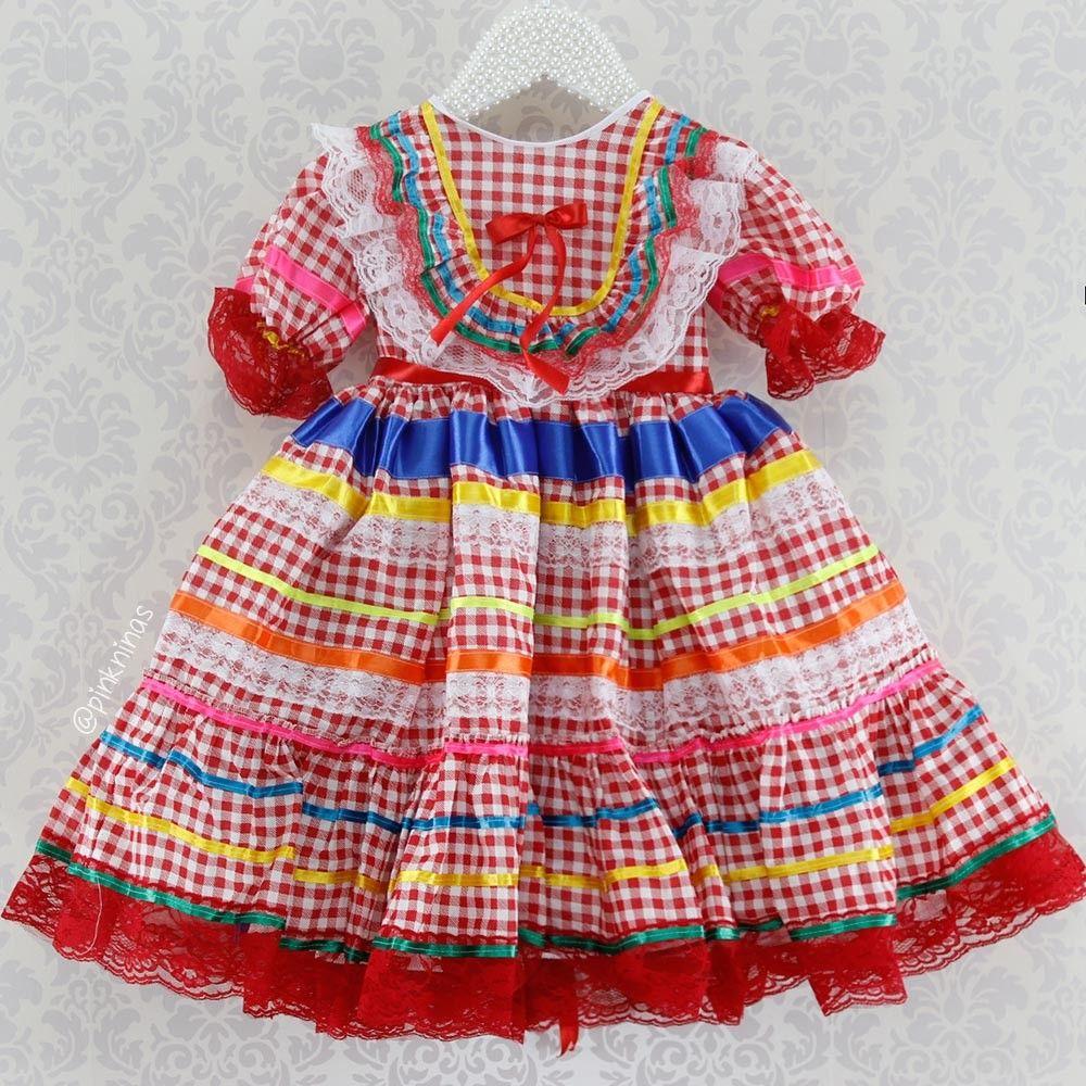 Vestido de festa junina passo a passo