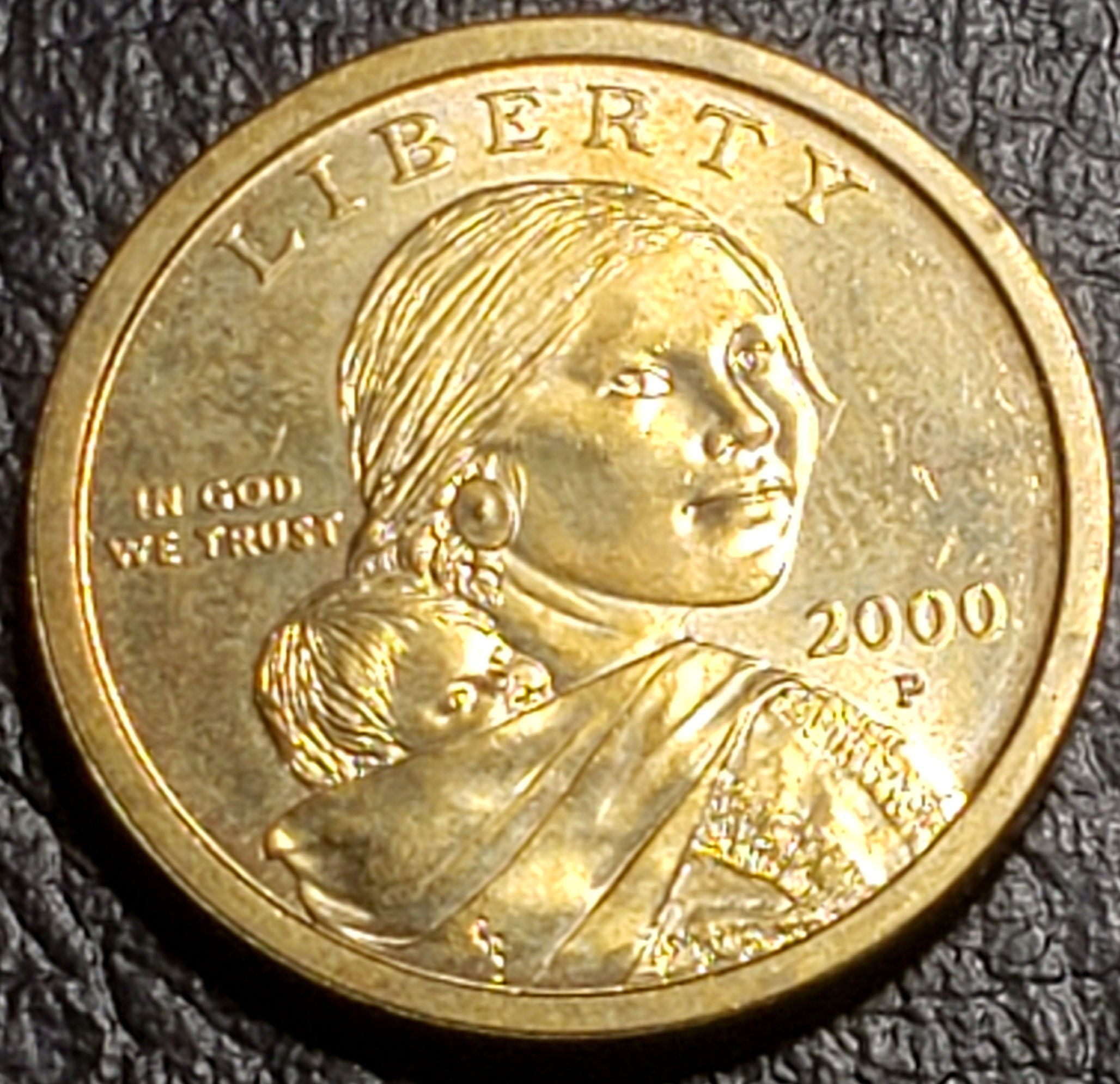 Vintage Dollar Sacagawea Dollarcopper Coin Etsy In 2020 Sacagawea Dollar Silver Coins Worth Sacagawea