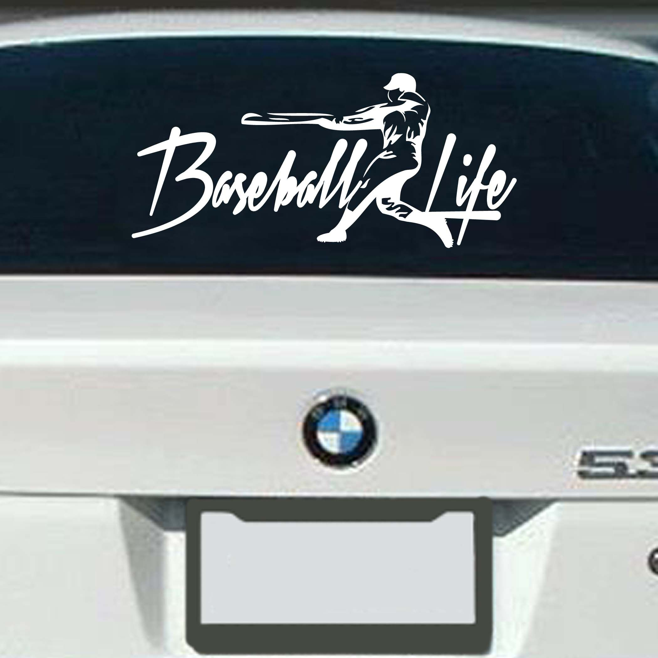 Baseball Life Decal Lifelineseriescom Baseball Pinterest - Custom car decals baseball