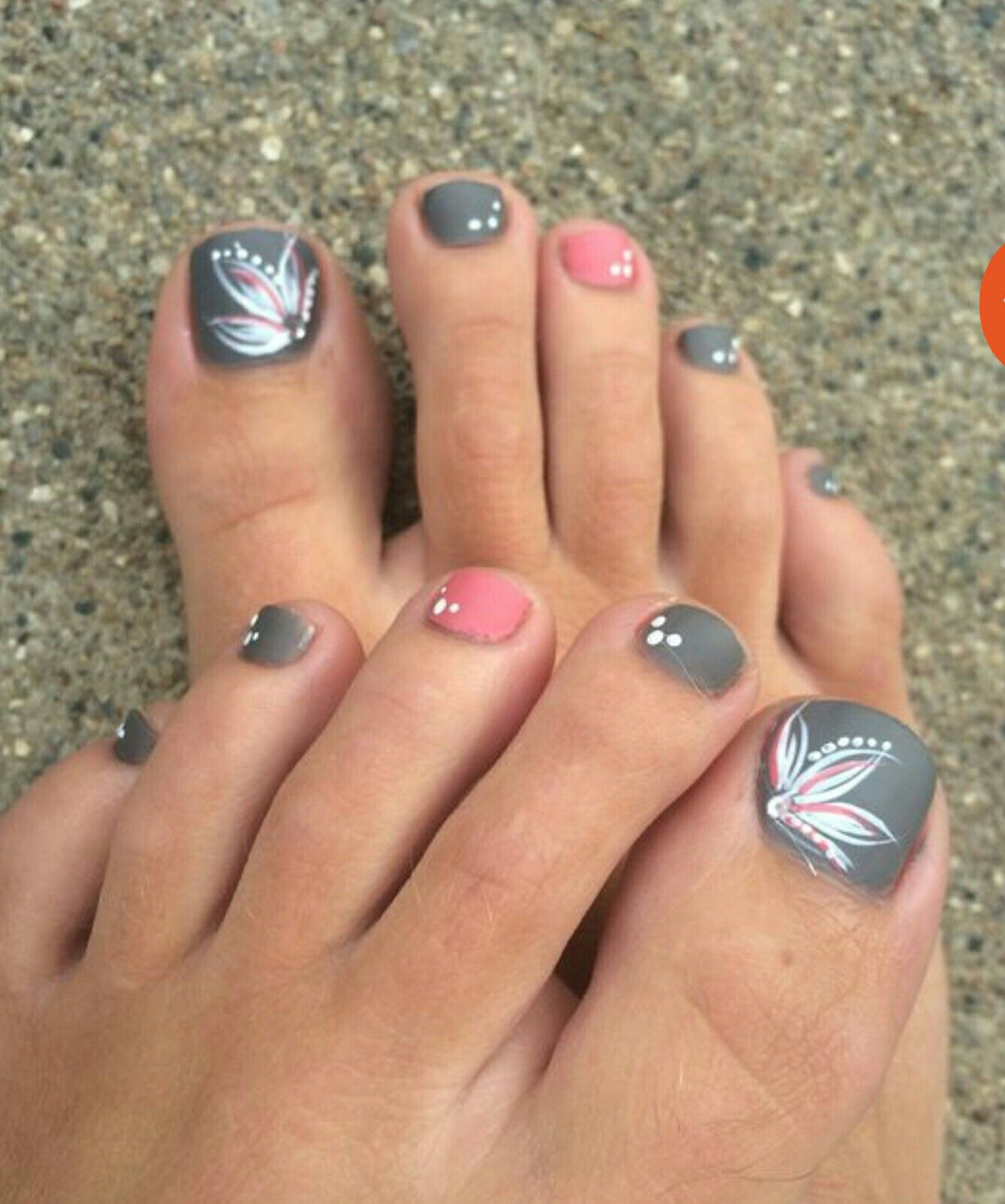 Pin By Brenda Braman Canter On Brendas Board With Images Pink Toe Nails Summer Toe Nails Cute Toe Nails