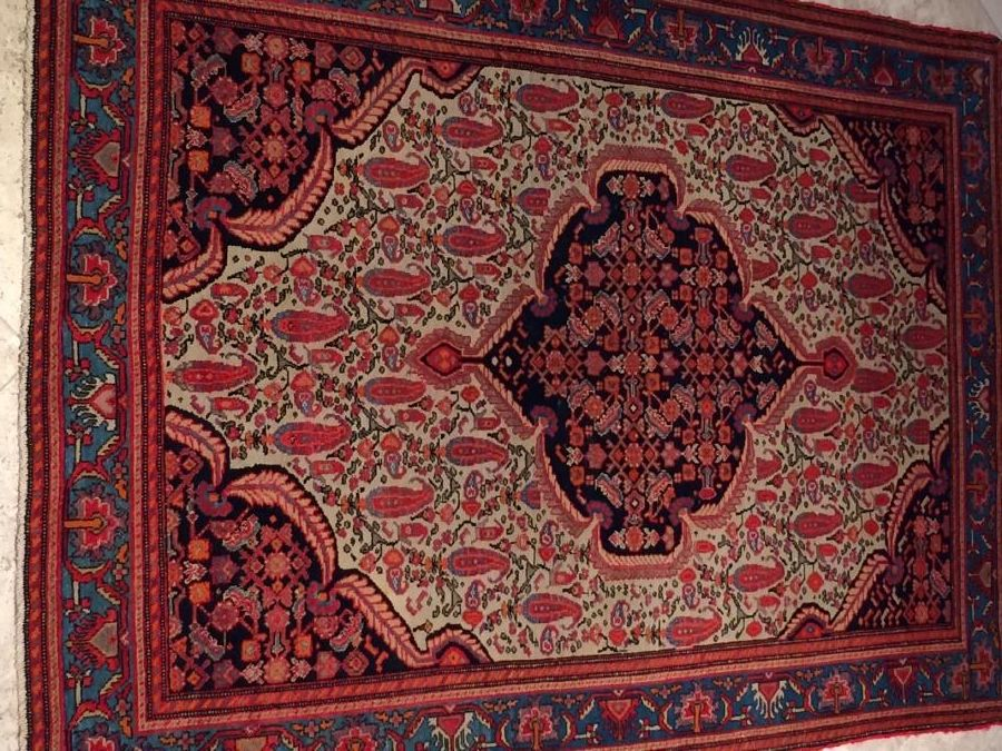 Handmade Wool Persian Malayer Antique Rug Super Fine Handmade 100 Wool And Vege Dye Rugs Antique Rugs Persian Rug