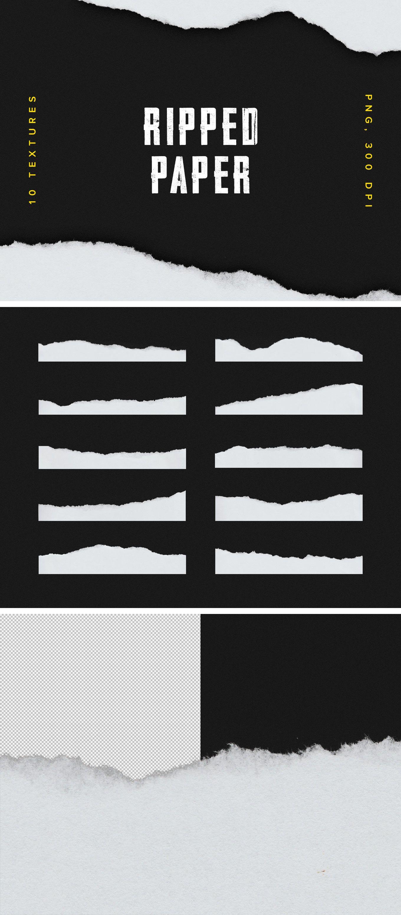Ripped Paper Photoshop : ripped, paper, photoshop, Ripped, Paper, Texture, Texture,, Graphic, Design,