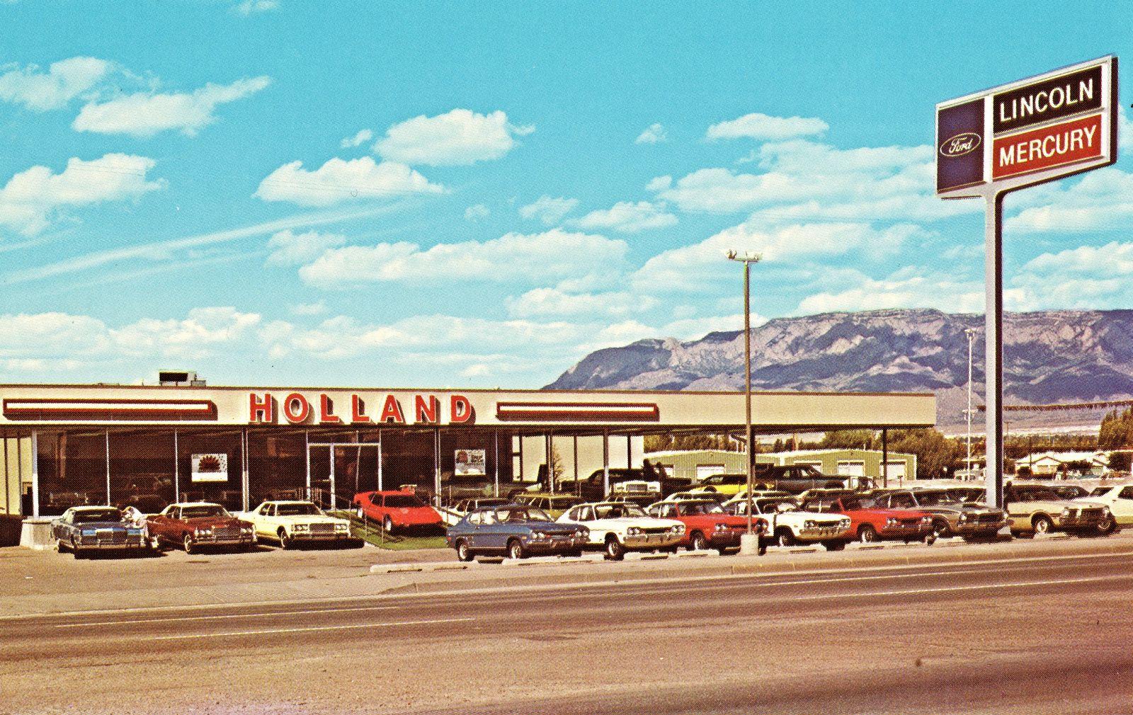 Holland Lincoln Mercury Albuquerque Nm 1973 Lincoln Mercury Albuquerque New Mexico