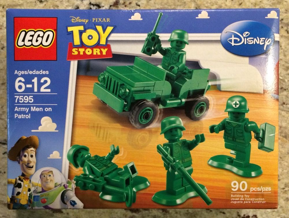 7595 ARMY MEN ON PATROL toy story LEGO new sealed legos set retired disney 2 3