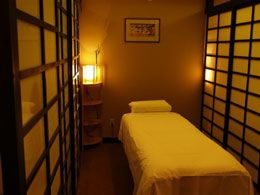Japanese massage rooms