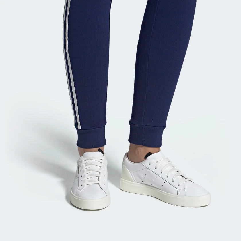 adidas Sleek Shoes Cloud White / Off