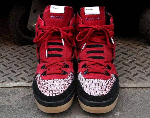 "adidas Originals Blue Collection – Hardland Hi – ""Red Croc""  e1552f454f"