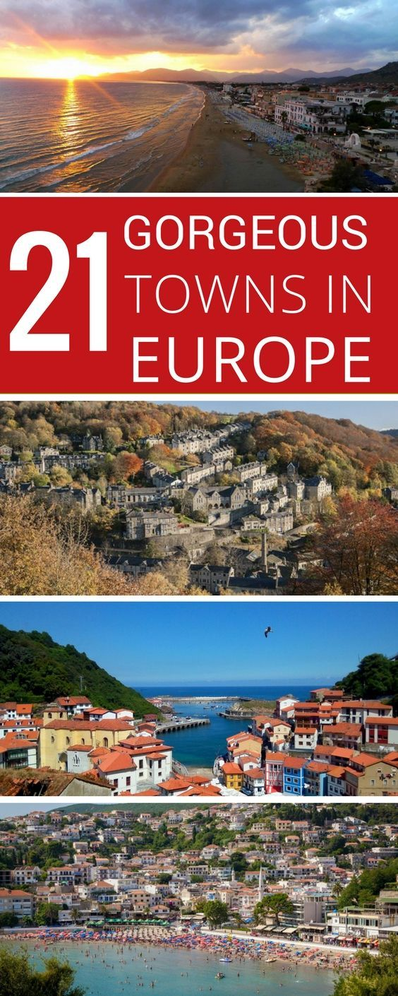 21 Best Small Towns In Europe Africa You Ve Never Heard Of But Should Europe Travel Europe Travel Destinations Travel