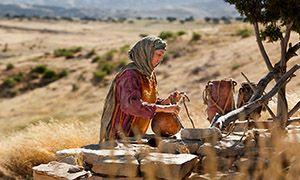 Jesus Ensena A Una Mujer Samaritana Jesus Ensena A Una Mujer